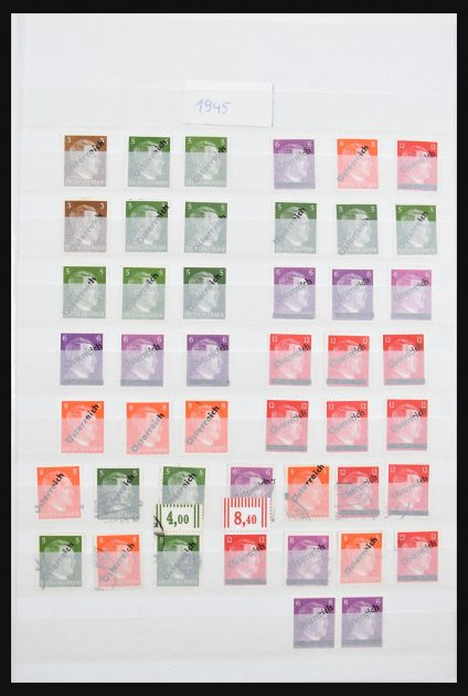 Stamp collection 30679 Austria 1945-1966.