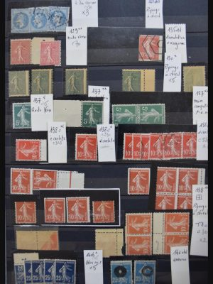 Stamp collection 30680 France varieties 1867-2009.