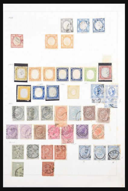 Stamp collection 30687 Italy 1862-12010.