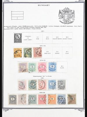 Stamp collection 30691 Hungary 1871-1983.