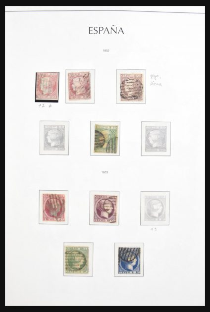 Stamp collection 30700 Spain 1850-1950.