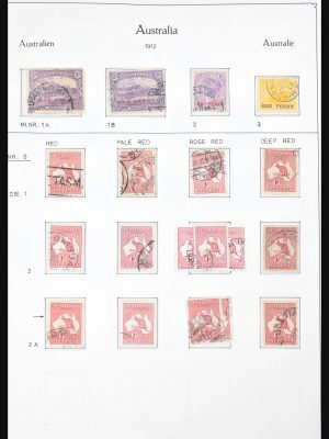 Stamp collection 30701 Australia 1913-1995.