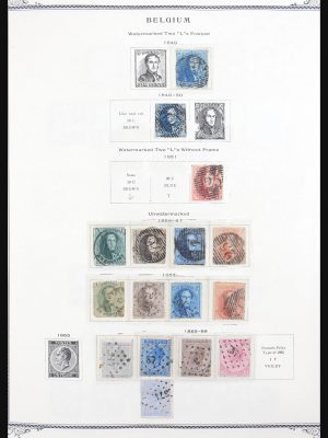 Stamp collection 30702 Belgium 1849-2004.