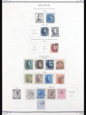 Stamp collection 30702 Belgium 1849-2004.