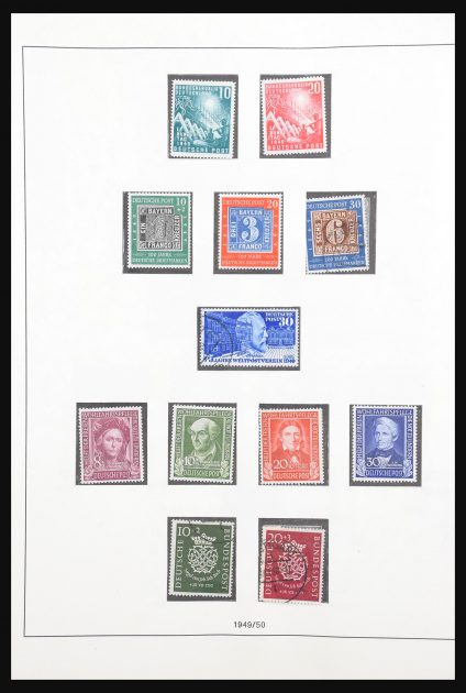 Stamp collection 30720 Bundespost 1949-1974.