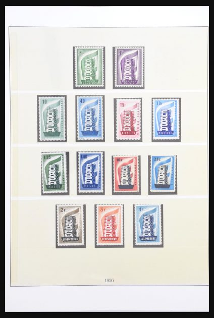 Stamp collection 30724 Europa Cept 1956-2003.
