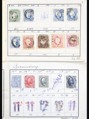 Stamp collection 30736 All world old/classics 1850-1945.