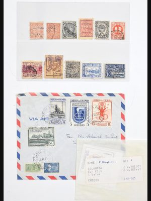 Stamp collection 30749 Colombia 1860-1985.