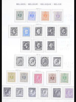 Stamp collection 30755 Belgium 1849-1979.