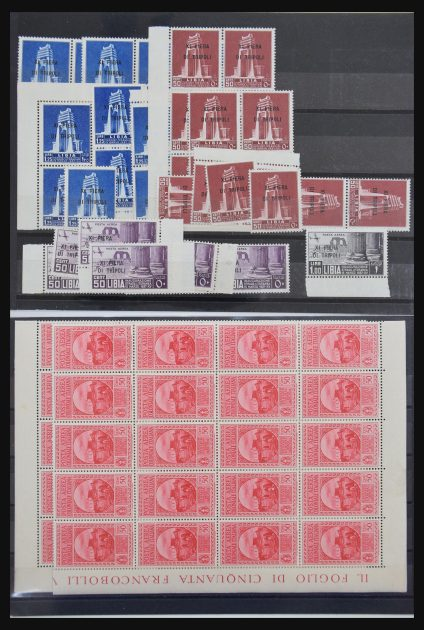 Stamp collection 30767 Italian Colonies 1906-1950.