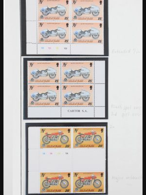 Stamp collection 30768 Isle of Man 1876(!)-2011.