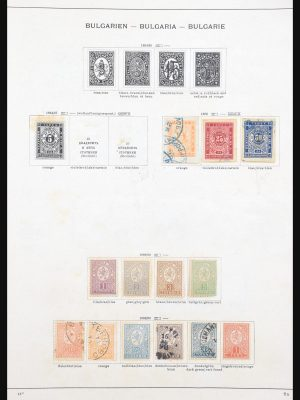 Stamp collection 30789 Eastern Europe 1871-1940.
