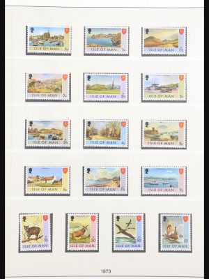 Stamp collection 30796 Isle of Man 1973-2003.
