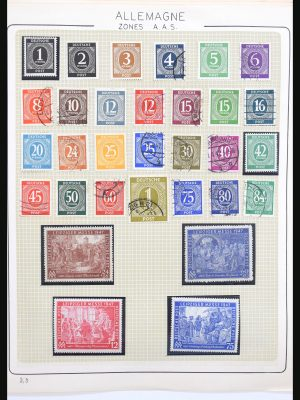 Stamp collection 30799 DDR 1948-1982.