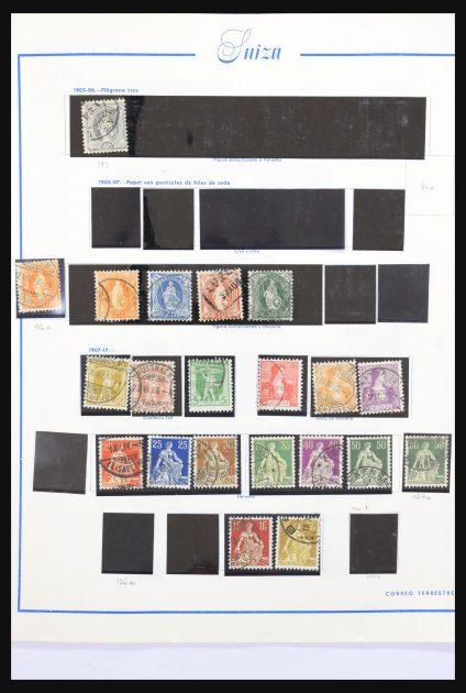 Stamp collection 30804 Switzerland 1900-2000.