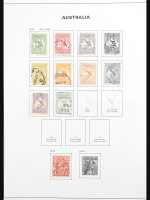 Stamp collection 30840 Australia 1913-2006.