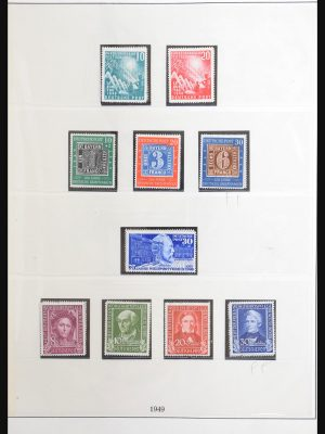 Stamp collection 30848 Bundespost 1949-1989.