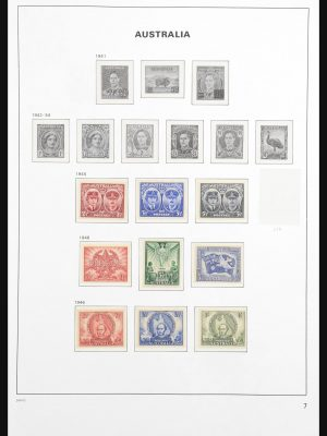 Stamp collection 30852 Australia 1913-1990.