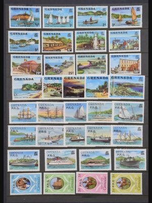 Stamp collection 30853 British Commonwealth MNH.