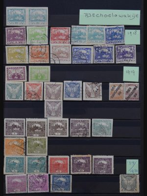 Stamp collection 30861 Czechoslovakia 1918-1990.