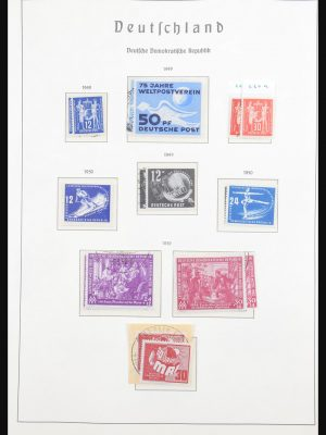 Stamp collection 30866 DDR 1949-1990.