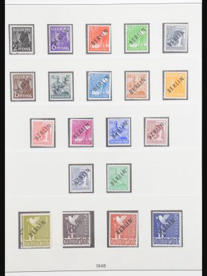 Stamp collection 30867 Berlin 1948-1990.