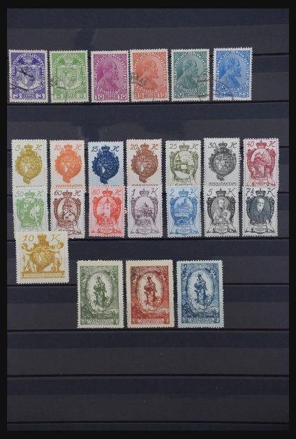 Stamp collection 30870 Liechtenstein.