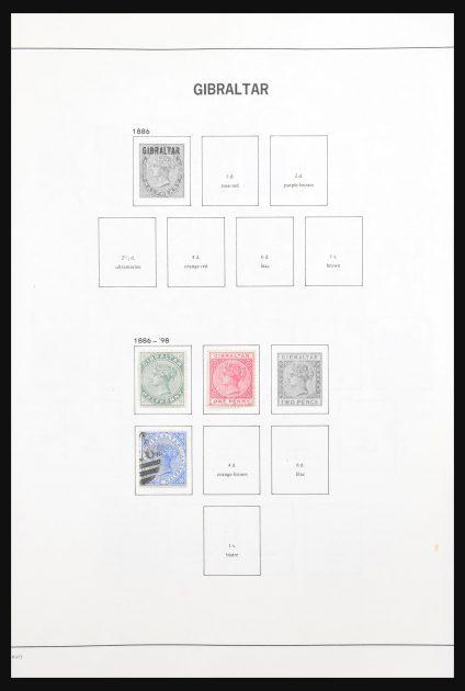 Stamp collection 30874 Gibraltar 1886-2011.