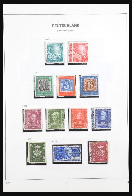 Stamp collection 30877 Bundespost 1949-1999.