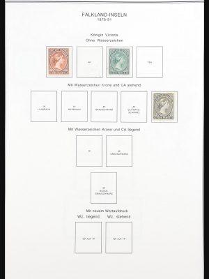 Stamp collection 30881 Falkland Islands 1878-1993.