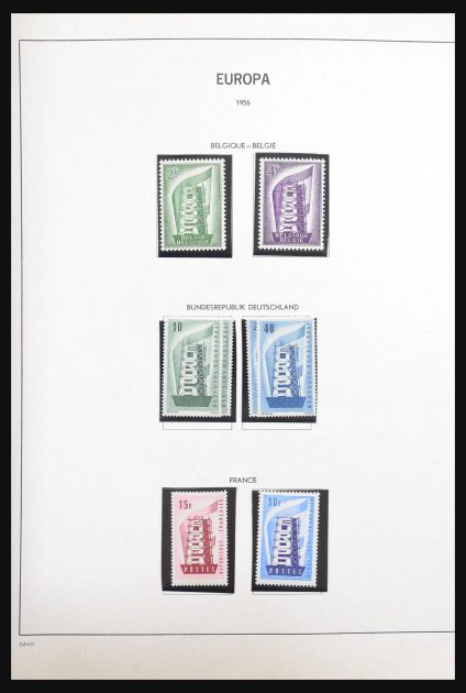 Stamp collection 30892 Europa CEPT 1956-2007.