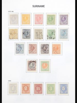 Stamp collection 30897 Suriname 1873-1975.