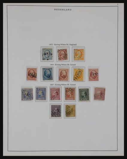 Stamp collection 30948 Netherlands 1852-1973.