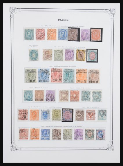 Stamp collection 30954 Italy 1862-1989.