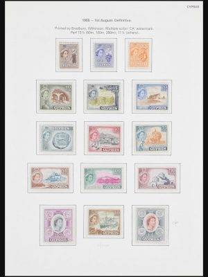 Stamp collection 30956 Cyprus 1953-1985.