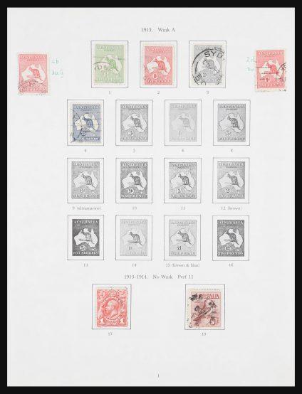 Stamp collection 30964 Australia 1913-2010.