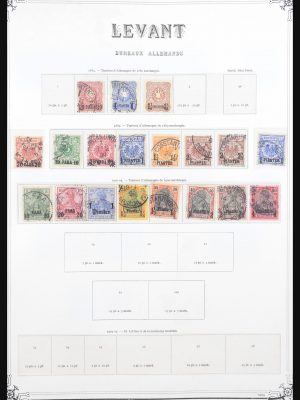 Stamp collection 30975 Levant 1884-1923.
