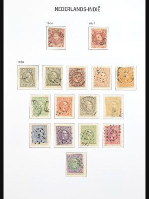 Stamp collection 30976 Dutch east Indies 1864-1948.