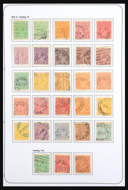 Stamp collection 30982 Australia 1913-2014.