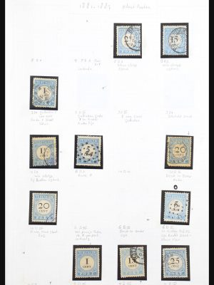 Stamp collection 30994 Netherlands postage dues plateflaws 1881-1958.