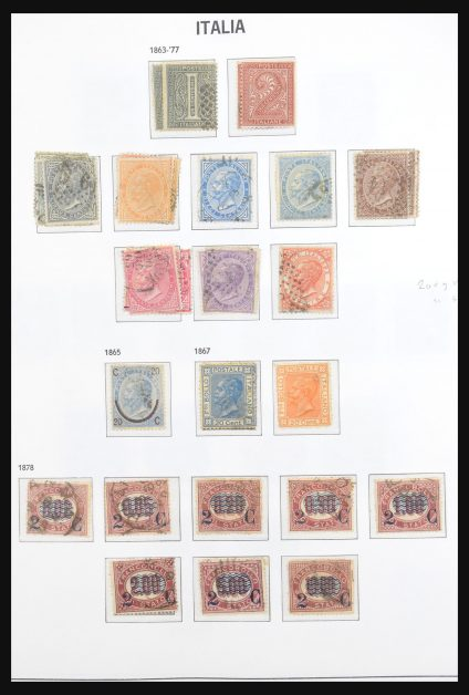 Stamp collection 30998 Italy 1862-1976.