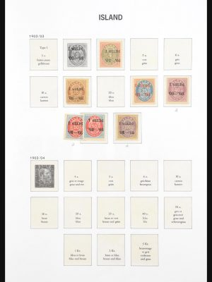 Stamp collection 31016 Iceland 1882-2018!