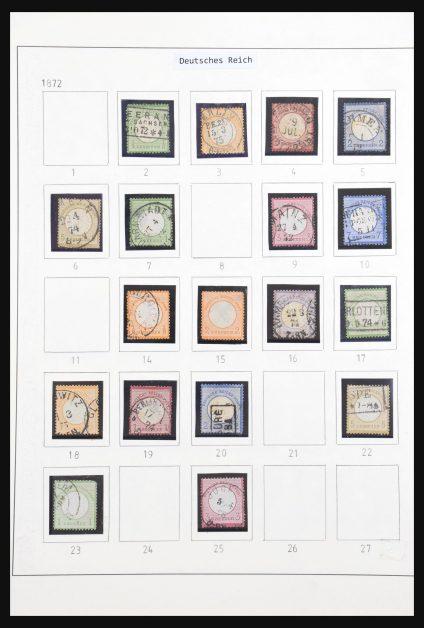 Stamp collection 31017 German Reich 1872-1945.