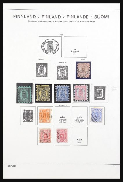 Stamp collection 31034 Finland 1860-1992.