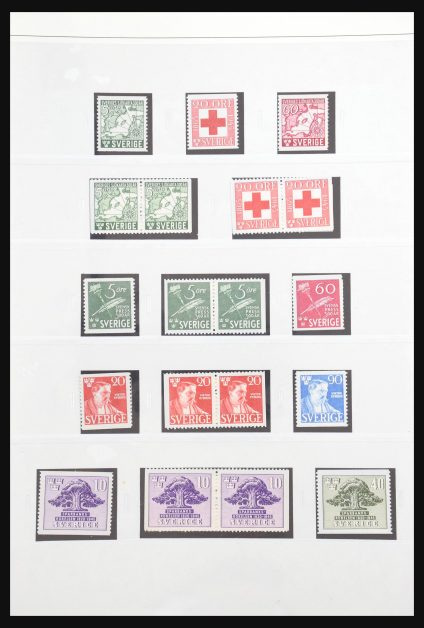 Stamp collection 31037 Sweden 1944-1979.