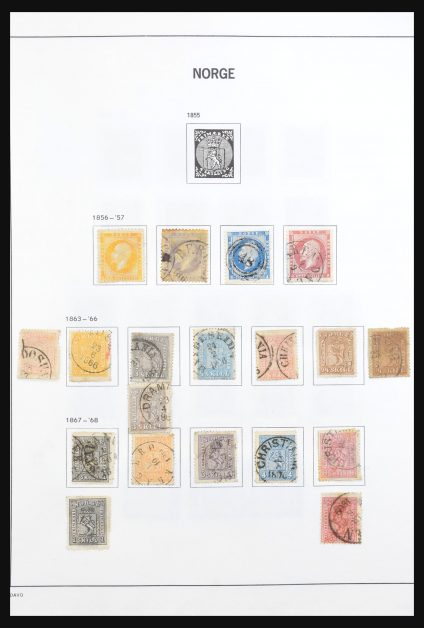 Stamp collection 31049 Norway 1856-1984.