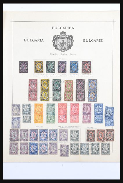 Stamp collection 31052 Bulgaria 1879-1911.