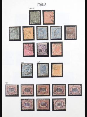 Stamp collection 31094 Italy 1863-2001.