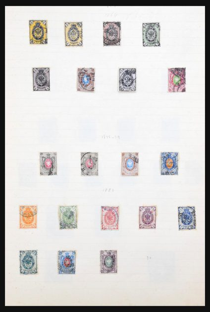 Stamp collection 31095 European countries.