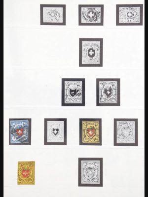 Stamp collection 31097 Switzerland 1850-2010.